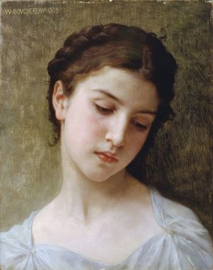 1200px William Adolphe Bouguereau 1825 1905 Head Of A Young Girl 1898