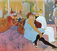 199px Get lautrec 1894 salon in the rue des moulins